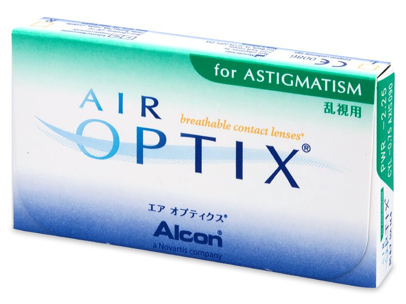 Previous design - Air Optix for Astigmatism (3 lente)
