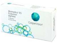 Biomedics 55 Evolution (6lente) - Monthly contact lenses