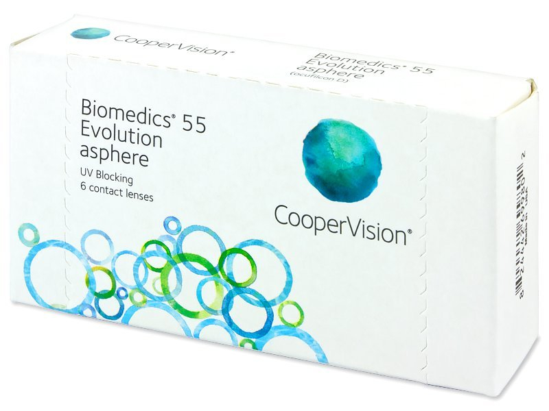 Biomedics 55 Evolution (6 lente) - Monthly contact lenses