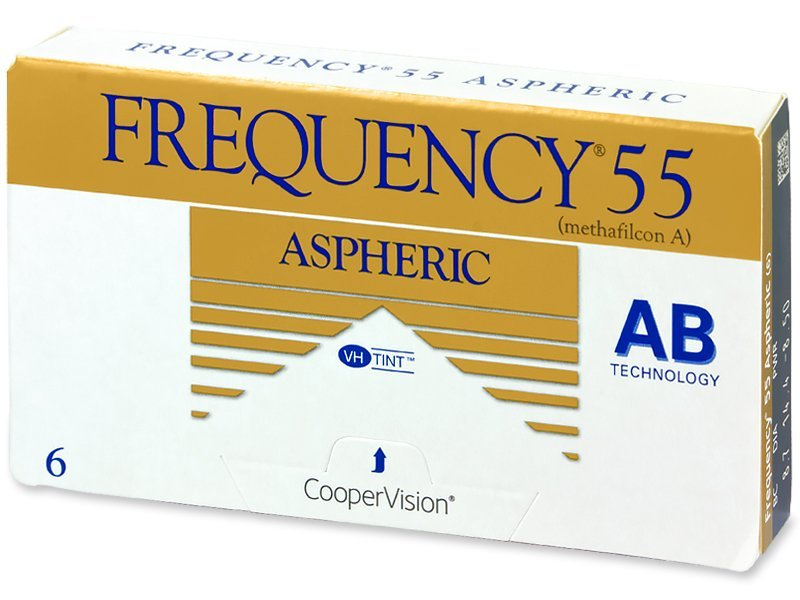 Frequency 55 Aspheric (6lente) - Monthly contact lenses