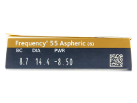 Frequency 55 Aspheric (6 lente) - Attributes preview