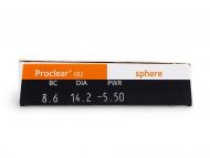 Proclear Compatibles Sphere (6lente) - Attributes preview