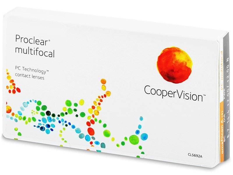 Multifocal contact lenses - Proclear Multifocal (3 lente)