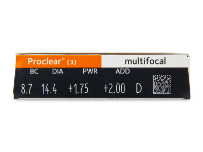 Proclear Multifocal (3lente) - Attributes preview