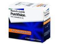 Lente kontakti Cilindrike - PureVision Toric (6lente)