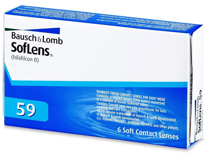 Monthly contact lenses - SofLens 59 (6lente)