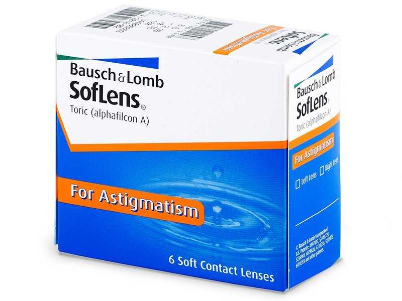 SofLens Toric (6lente) - Toric contact lenses