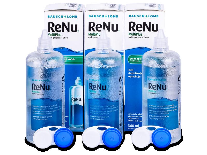 ReNu MultiPlus solucion 3x360ml  - Economy 3-pack - solution