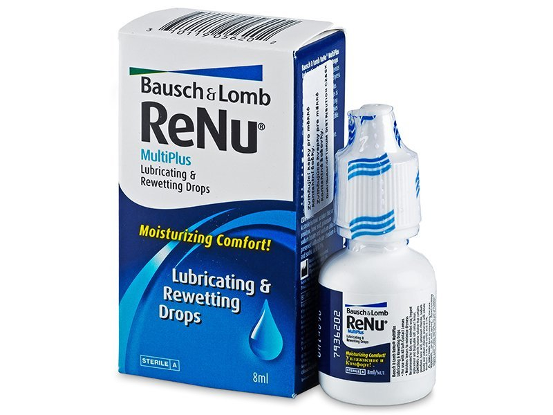 ReNu MultiPlus Drops 8 ml  - Eye drops