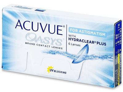 Acuvue Oasys for Astigmatism (6 lente) - Toric contact lenses