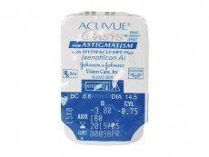 Acuvue Oasys for Astigmatism (6 lente)