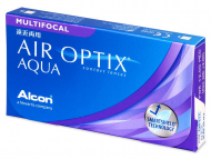 Air Optix Aqua Multifocal (3lente) - Multifocal contact lenses