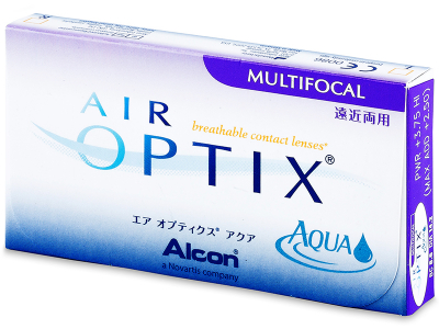 Air Optix Aqua Multifocal (3 lente) - Previous design