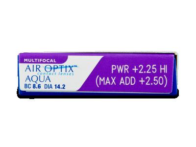Air Optix Aqua Multifocal (3lente) - Attributes preview