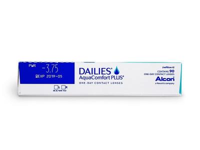 Dailies AquaComfort Plus (90lente) - Attributes preview