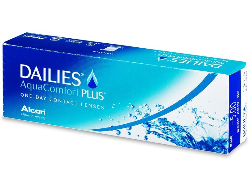 Dailies AquaComfort Plus (30 lente optike) - Daily contact lenses