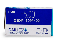 Dailies AquaComfort Plus (30lente optike) - Attributes preview