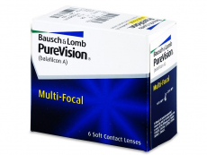 PureVision Multi-Focal (6lente) - Multifocal contact lenses