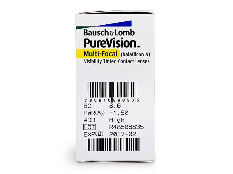 PureVision Multi-Focal (6lente) - Attributes preview