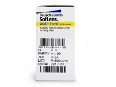 SofLens Multi-Focal (6lente) - Attributes preview