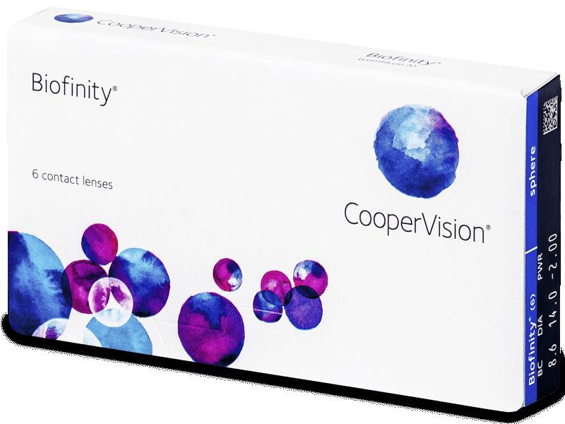 Biofinity (6lente) - Monthly contact lenses