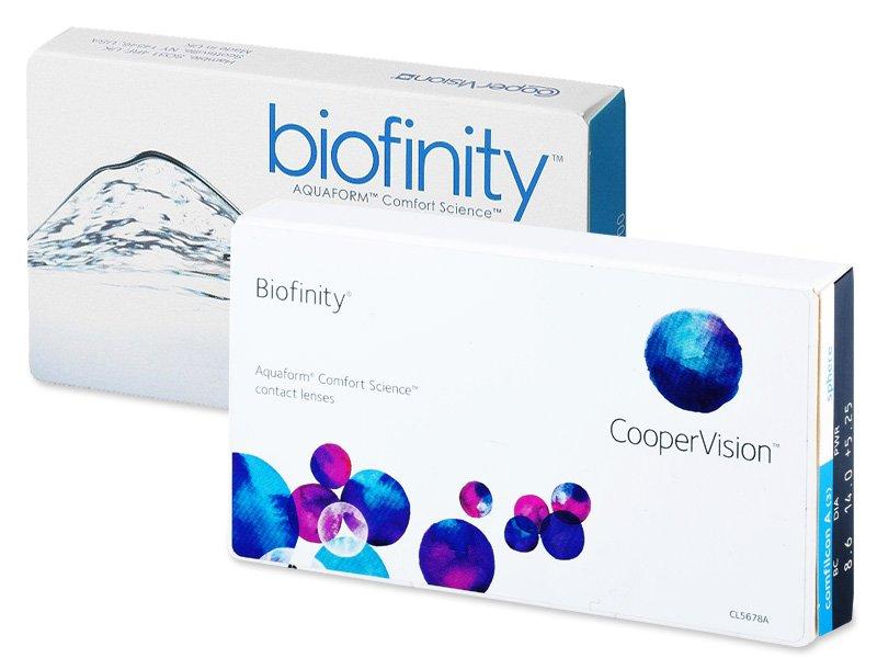 Biofinity (6lente) - Previous design