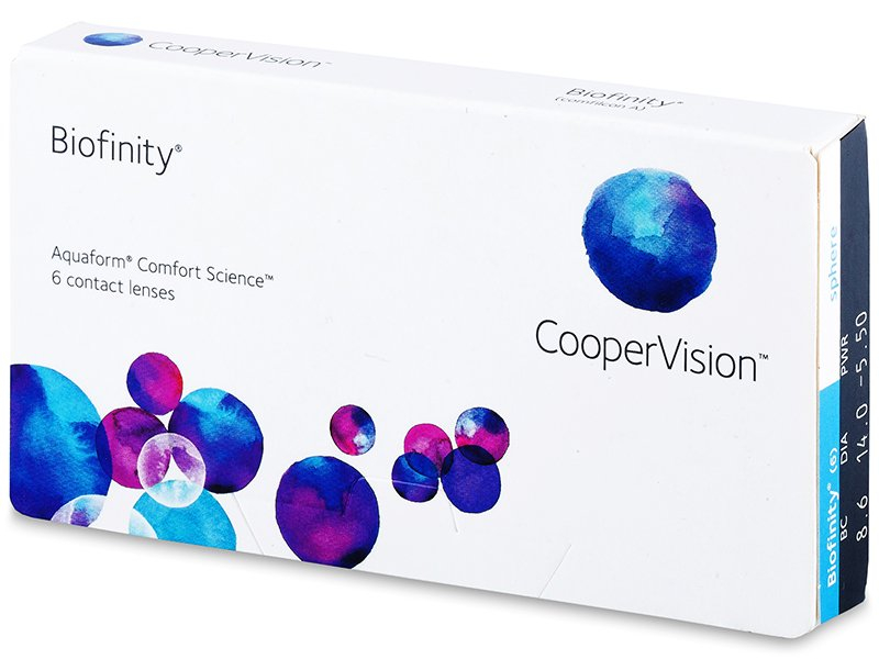 Biofinity (6 lente) - Monthly contact lenses