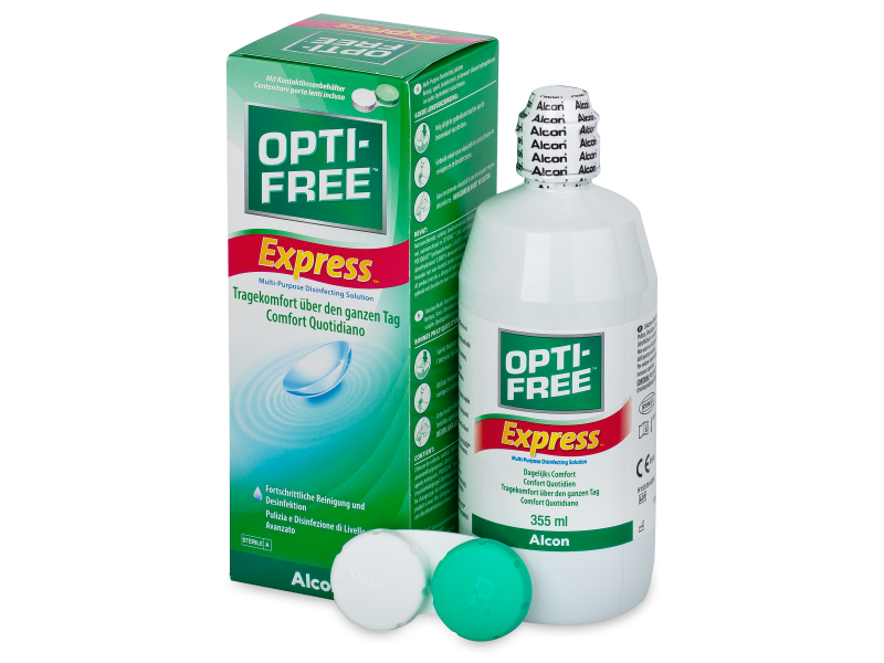 OPTI-FREE Express solucion 355ml  - Cleaning solution