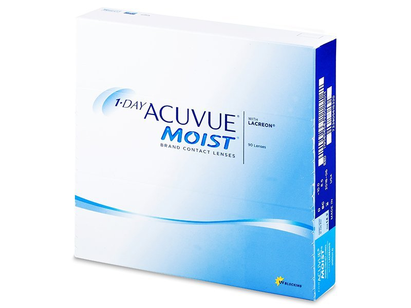 1 Day Acuvue Moist (90lente) - Lente Ditore