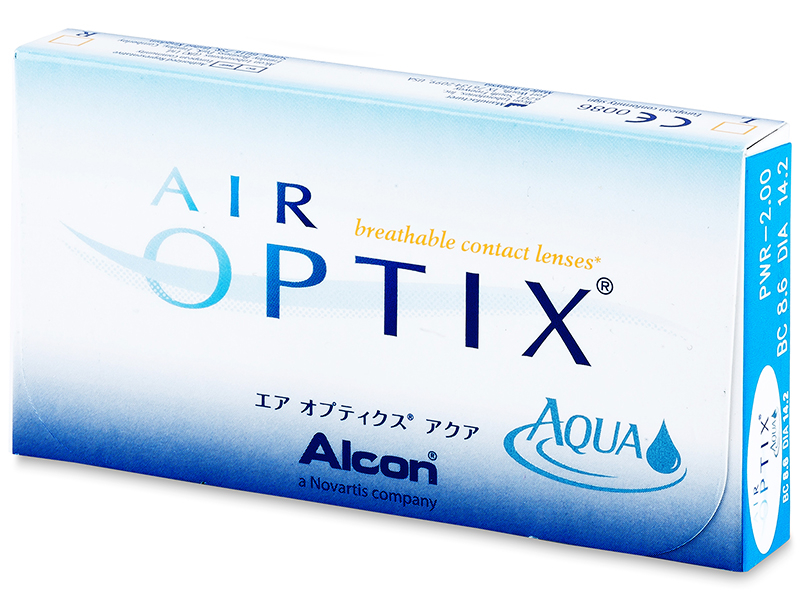 Air Optix Aqua (6 lente) - Previous design