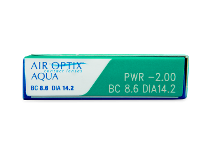 Air Optix Aqua (6 lente) - Attributes preview