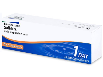 SofLens Daily Disposable Toric (30 lente) - Toric contact lenses