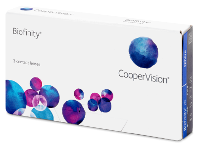 Monthly contact lenses - Biofinity (3 lente)