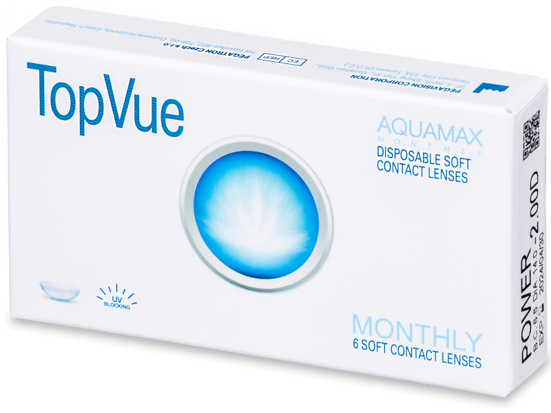 TopVue Monthly (6lente) - Monthly contact lenses