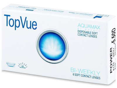TopVue Bi-weekly (6 lente) - Bi-weekly contact lenses