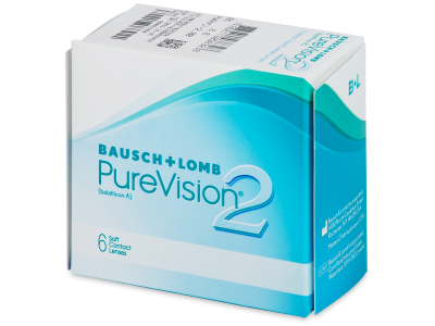 PureVision 2 (6 lente) - Monthly contact lenses