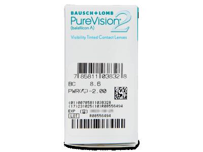 PureVision 2 (6lente) - Attributes preview