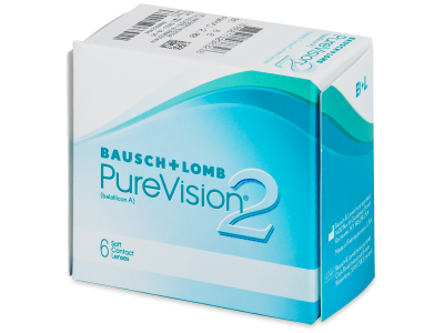 PureVision 2 (6lente) - Monthly contact lenses