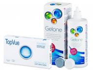 Lente Kontakti + Solucion - TopVue Monthly  (6lente) +GeloneSolucion 360ml