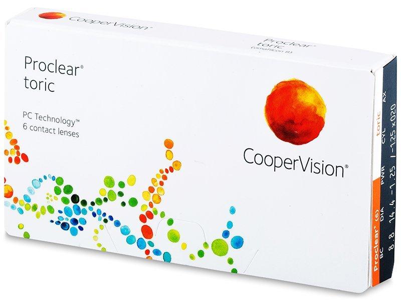 Toric contact lenses - Proclear Toric (6lente)