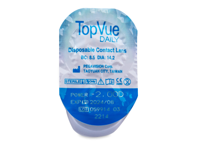 TopVue Daily (30lente) - Blister pack preview