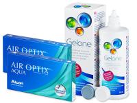 Air Optix Aqua (2x3lente) +GeloneSolucion 360ml
