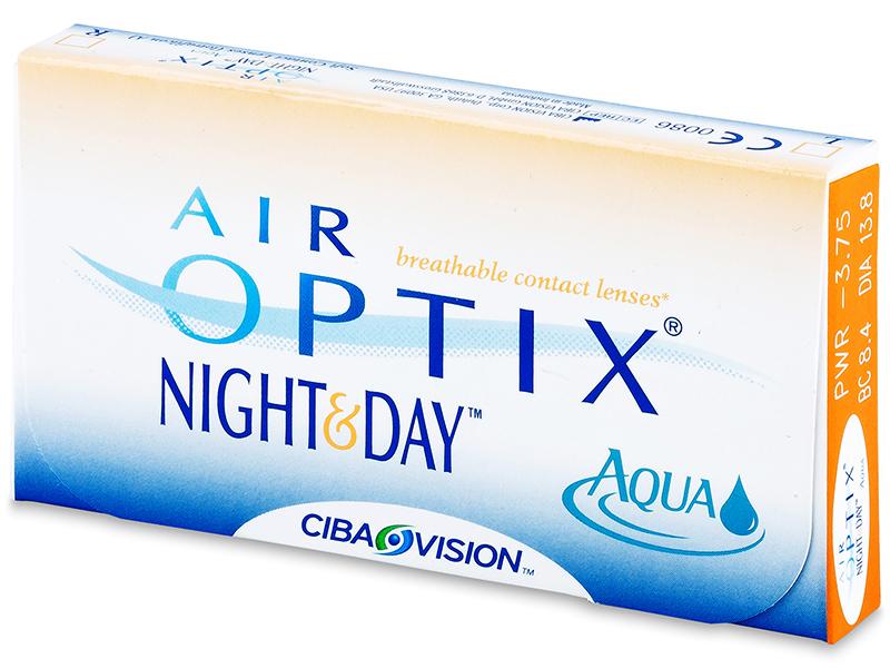 Air Optix Night and Day Aqua (6lente) - Previous design