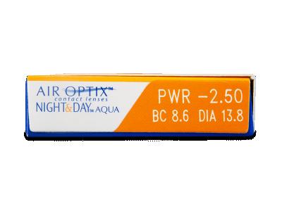 Air Optix Night and Day Aqua (6lente) - Attributes preview